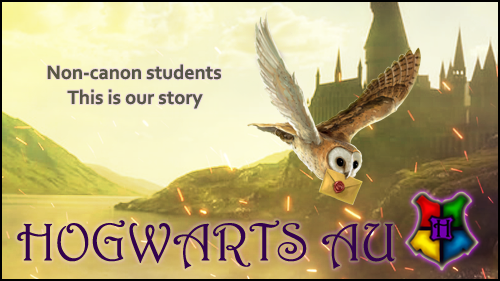 Hogwarts AU | non-canon - this is our story 3NV172