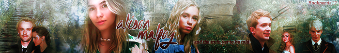 Tiffany1567's Banner for Bookpanda12's story: Alison Malfoy And The Truth Yet To Be Told